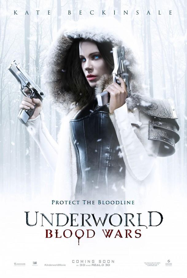Underworld: Krvavé války: Sněžný plakát | Fandíme filmu