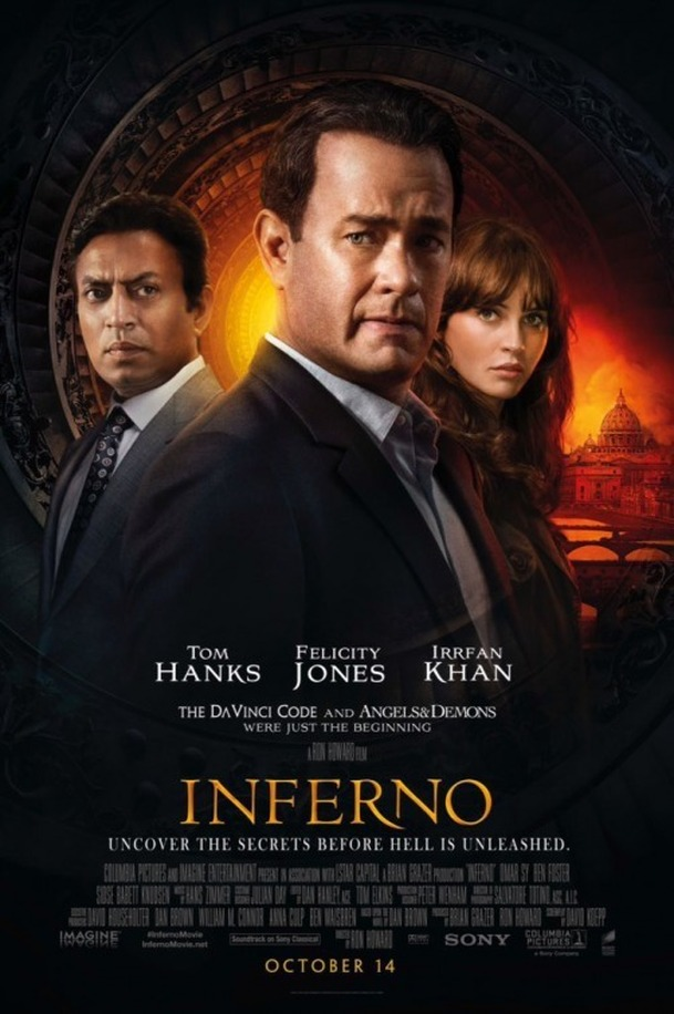 Inferno: Nejnovější upoutávky a píše se další pokračování   Fandíme filmu