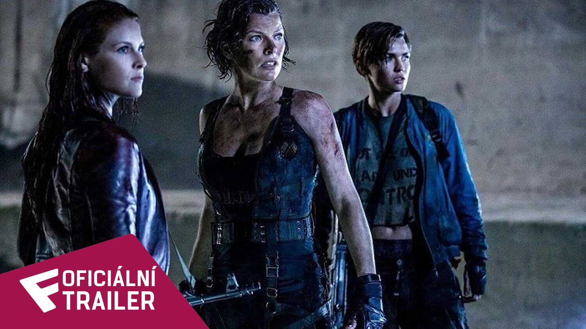 Resident Evil: Poslední kapitola - Oficiální Trailer | Fandíme filmu