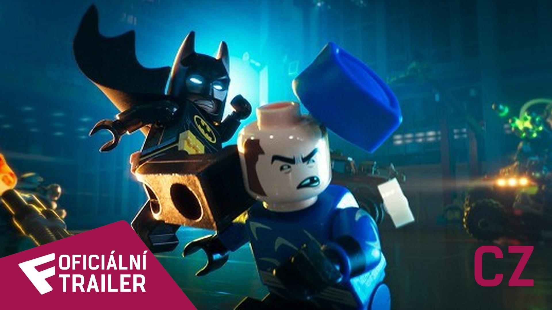LEGO® Batman film - Oficiální Trailer (CZ - dabing) | Fandíme filmu