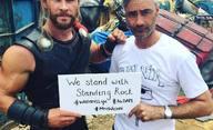 Thor: Ragnarok: Valkyrie, Hela a Hulkův parťák na fotkách | Fandíme filmu