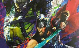 Thor Ragnarok: Thor a Hulk na společném artworku | Fandíme filmu