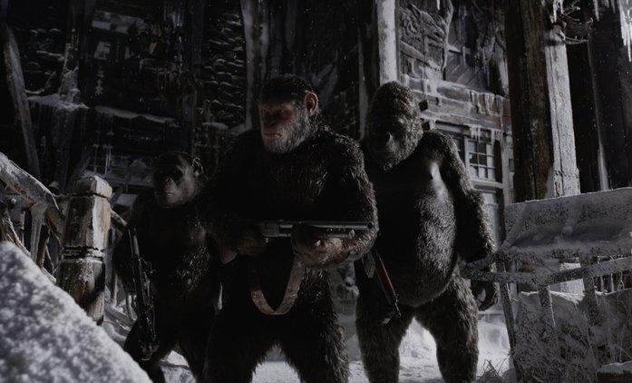 Válka o planetu opic: Mezinárodní trailer a plakát | Fandíme filmu