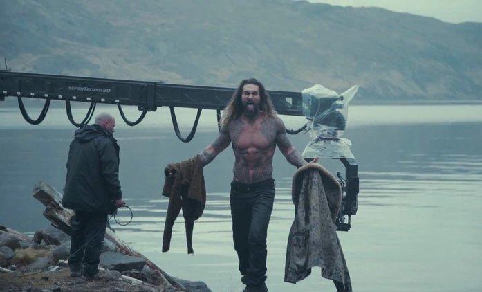 Justice League: Fotky a video s Aquamanem | Fandíme filmu