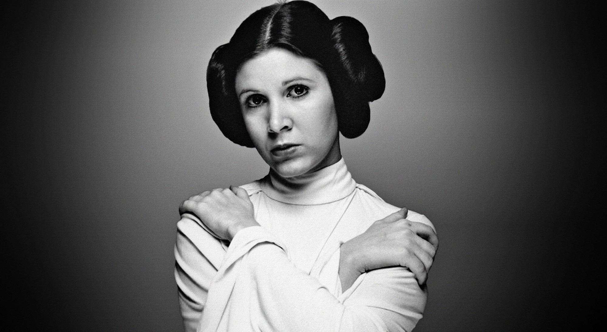 Star Wars IX použijí ještě víc záběrů Carrie Fisher   Fandíme filmu