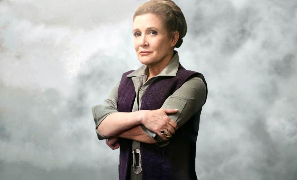 Star Wars: Devátá epizoda bude důstojnou poctou Carrie Fisher   Fandíme filmu