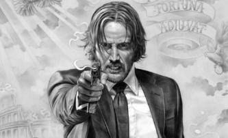 John Wick 3: Baba Jaga na pohyblivém plakátu | Fandíme filmu