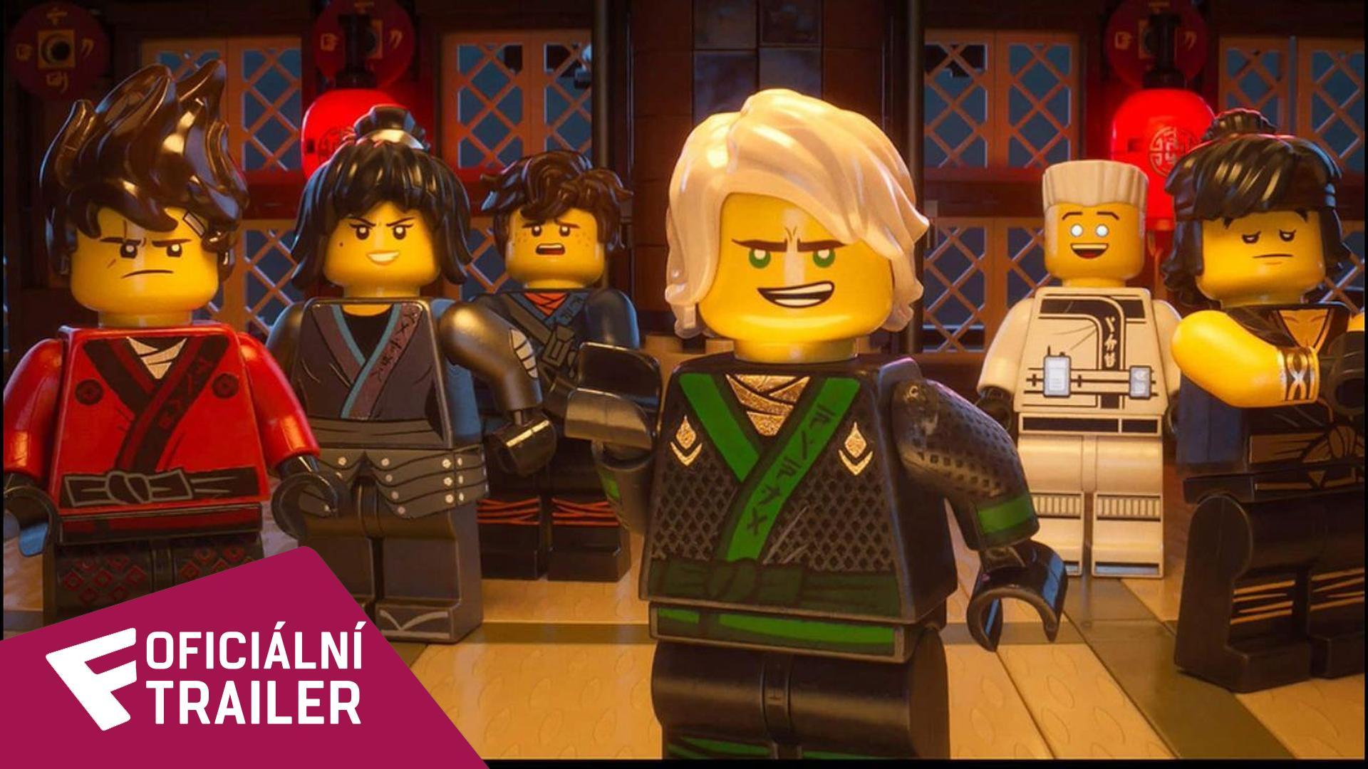 The Lego Ninjago Movie - Oficiální Trailer   Fandíme filmu