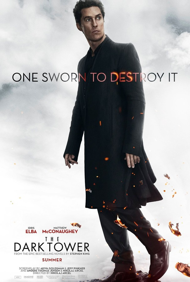 Temná věž: Plakáty a teasery, trailer už zítra | Fandíme filmu