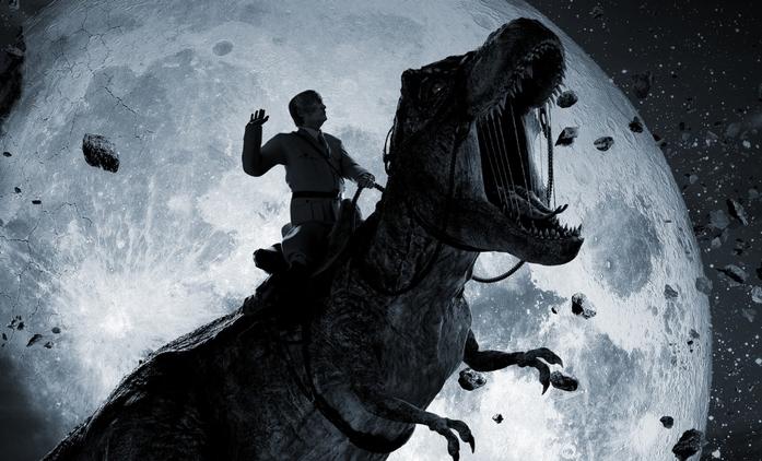 Iron Sky: The Coming Race: Hitler se vrací. Na Tyranosaurovi   Fandíme filmu