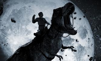 Iron Sky: The Coming Race: Hitler se vrací. Na Tyranosaurovi | Fandíme filmu
