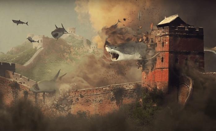 Sharknado 5: První teaser útočí na světové památky | Fandíme filmu
