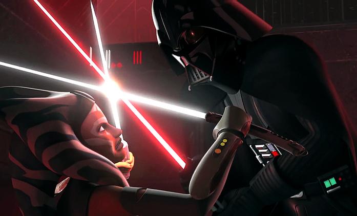 Dabéři Anakina Skywalkera a Ahsoky Tano spolu pracují na tajném projektu | Fandíme seriálům