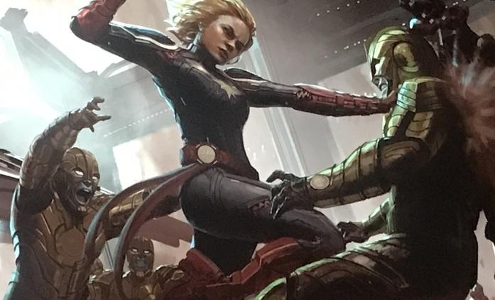 Captain Marvel: Brie Larson ve vojenském, natáčení za rohem | Fandíme filmu