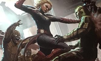 Captain Marvel: Brie Larson ve vojenském, natáčení za rohem   Fandíme filmu