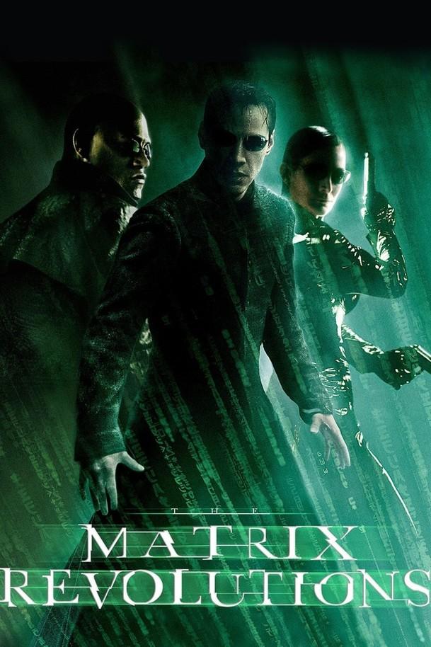 Matrix Revolutions   Fandíme filmu