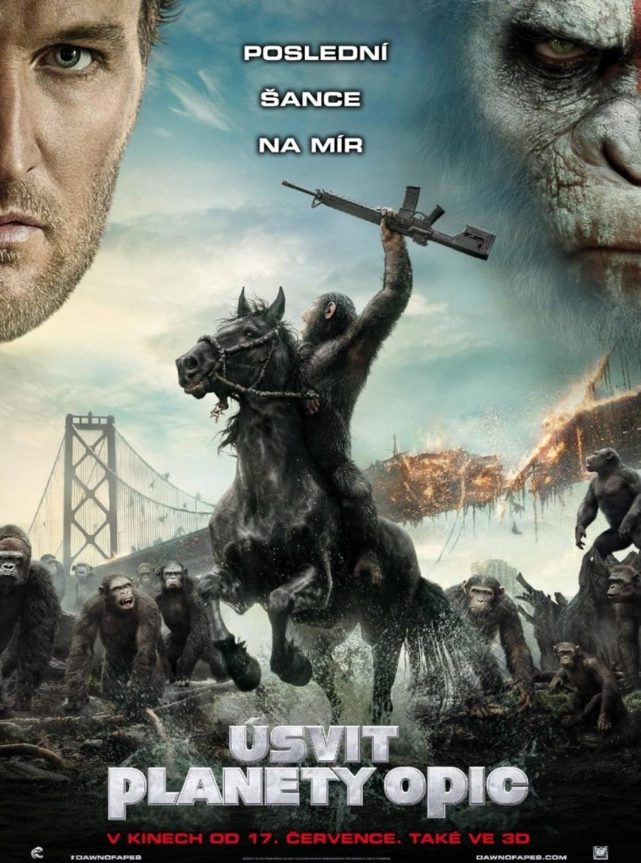 Úsvit planety opic | Fandíme filmu