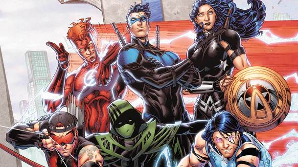 Práce na seriálové adaptaci Teen Titans naplno začaly   Fandíme serialům