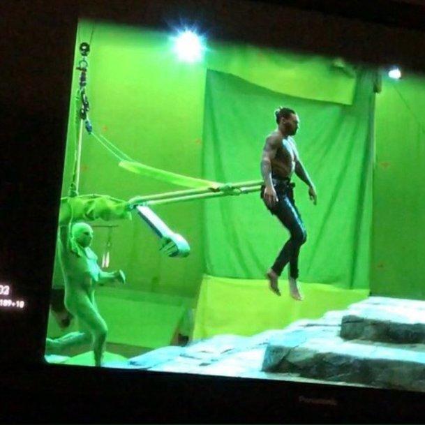 Aquaman: Jak se točí podvodní scény a fotky z natáčení | Fandíme filmu