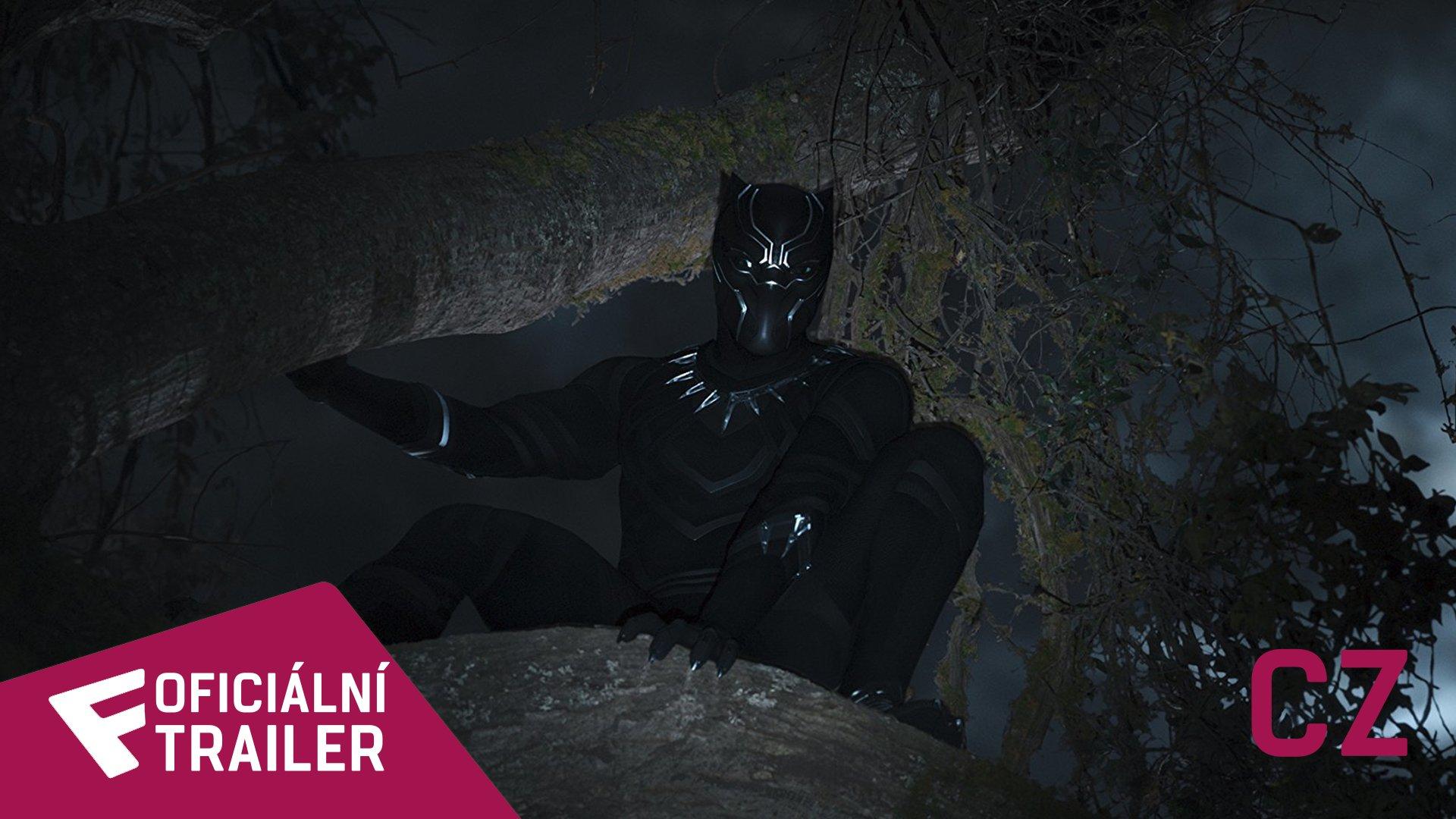 Black Panther - Oficiální Trailer (CZ) | Fandíme filmu
