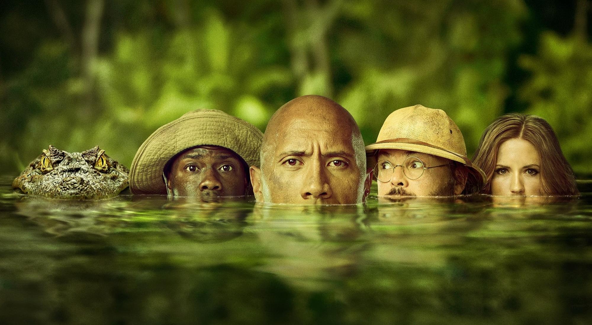Výsledek obrázku pro jumanji: vítejte v džungli