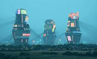 The Electric State: Vizuální sci-fi o kolapsu civilizace | Fandíme filmu