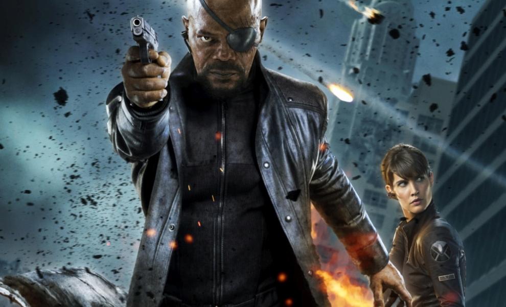 Nick Fury a Maria Hill točí. Ale jaký film vlastně? | Fandíme filmu