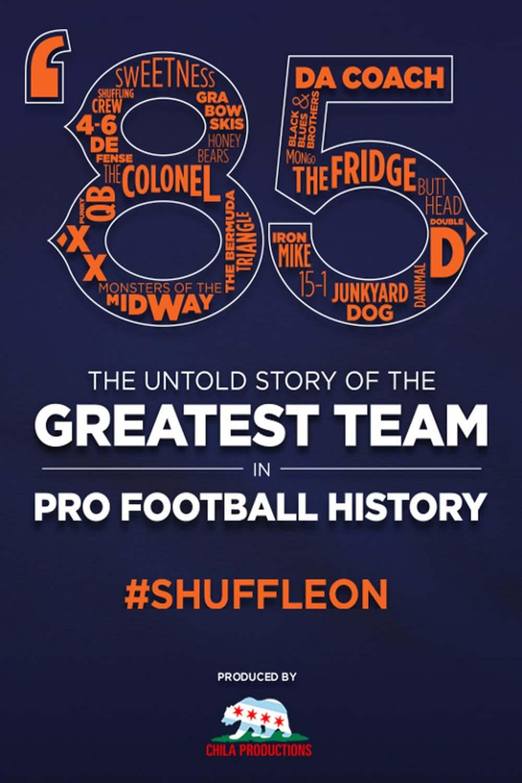 '85: The Greatest Team in Pro Football History | Fandíme filmu