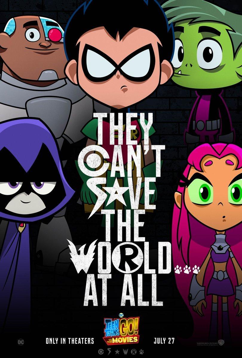 Teen Titans GO!: Nový plakát paroduje Justice League   Fandíme filmu