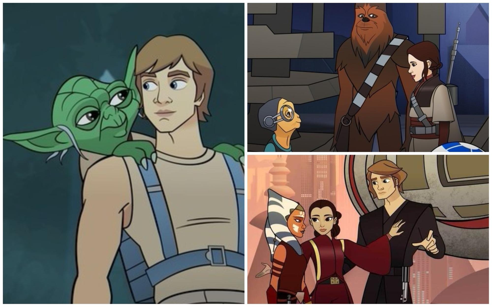 Star Wars: 3. sezóna se konečně zaměří i na mužské postavy | Fandíme filmu