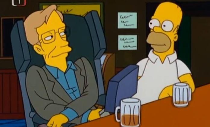 Simpsonovi: Slavný sitcom prý předpověděl smrt Hawkinga   Fandíme seriálům