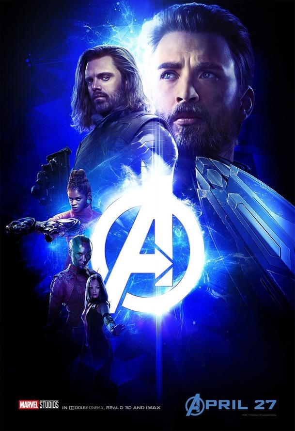 Avengers 3: Hrdinové na pětici parádních barevných plakátů   Fandíme filmu
