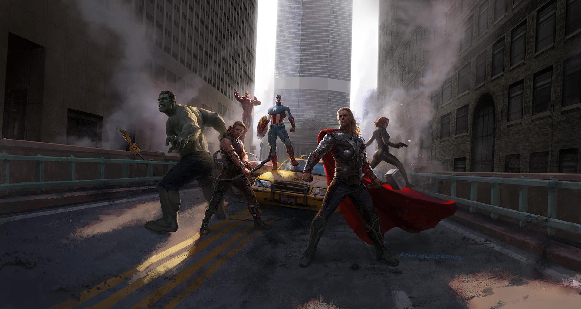První Avengers málem měli dalšího padoucha a hrdinku, stvořili Thanose | Fandíme filmu