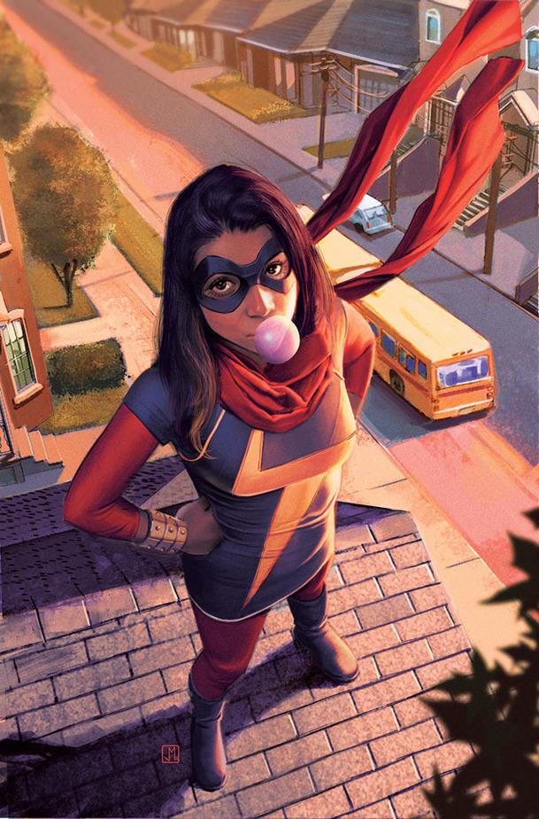Captain Marvel: Představení muslimské Ms. Marvel je v plánu | Fandíme filmu