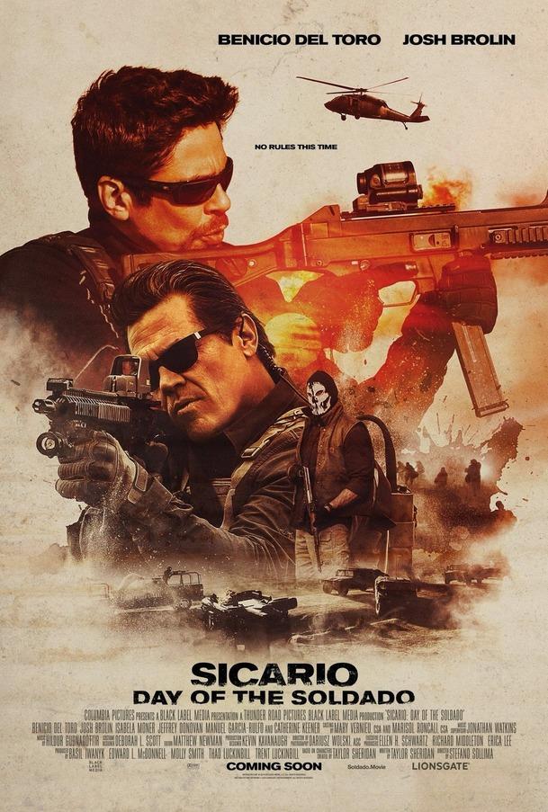 Sicario 2: Soldado: Nejnovější trailer ještě přitvrzuje akci | Fandíme filmu