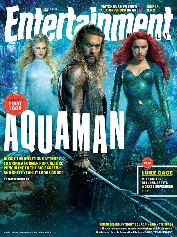 Aquaman: První pohled na Black Mantu, Atlannu a další   Fandíme filmu