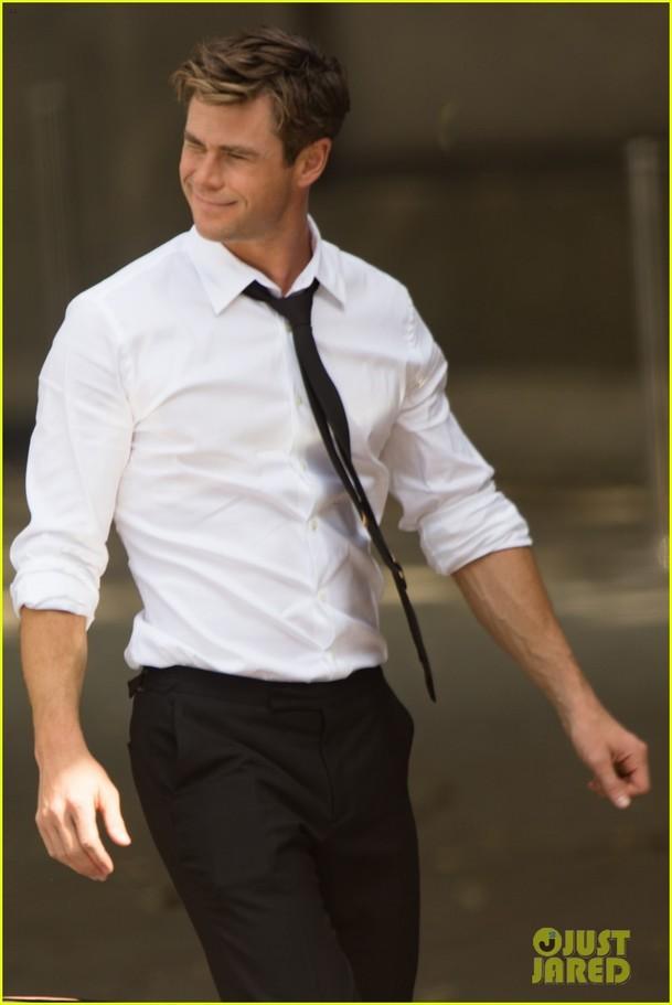 Muži v černém: Natáčení začalo, první fotky s Hemsworthem   Fandíme filmu