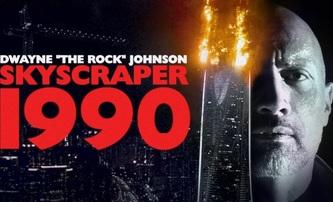 Mrakodrap: Dwayne Johnson v devadesátkovém fan-edit traileru   Fandíme filmu