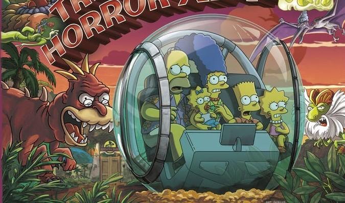 Simpsonovi: Žlutá rodinka se vydá do Jurského parku