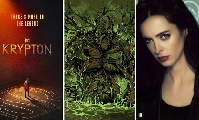 Komiksové novinky #3 - Swamp Thing, Krypton, Jessica Jones | Fandíme seriálům