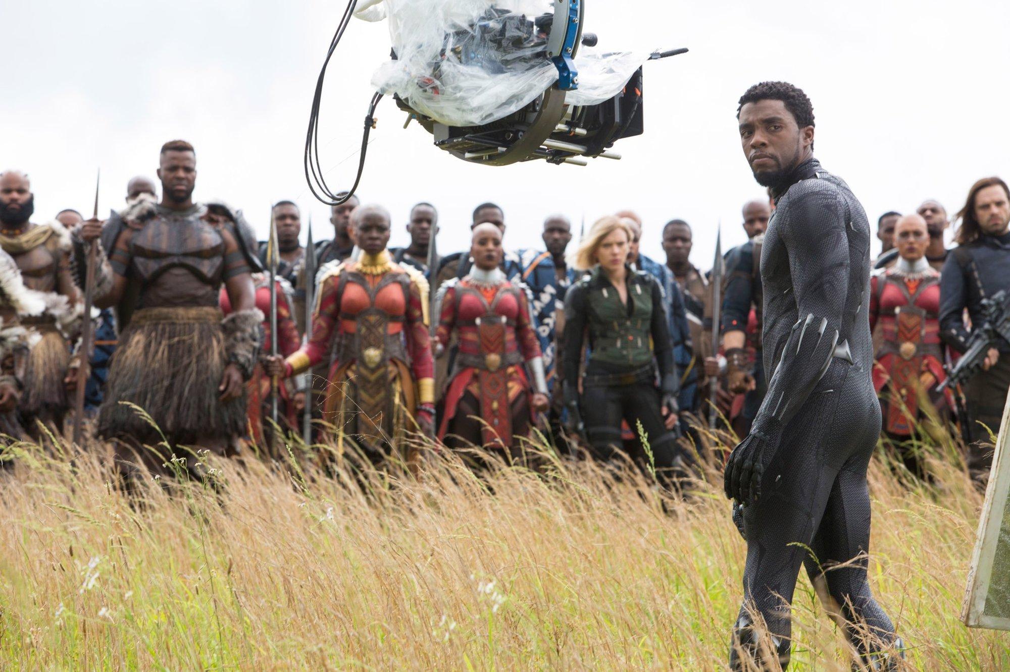 Avengers: Infinity War: Video ukazuje, jak vznikala bitva o Wakandu