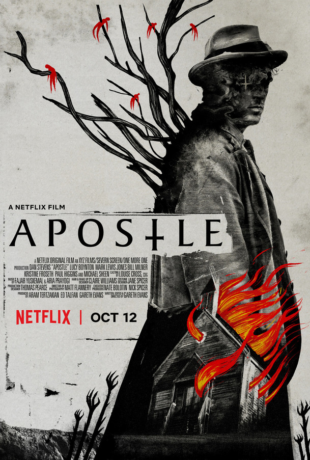 Apostle: Nová upoutávka znepokojivě leze pod kůži | Fandíme filmu