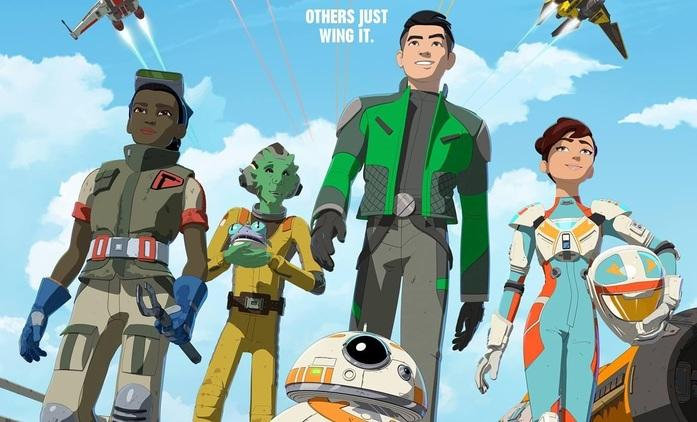 Star Wars: Resistance: Nový plakát a podrobnosti o postavách | Fandíme seriálům