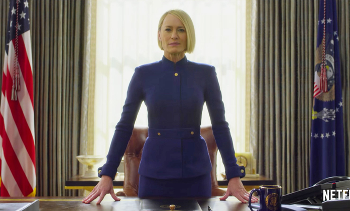 House of Cards: Nový teaser na 6. řadu bez Spaceyho | Fandíme seriálům