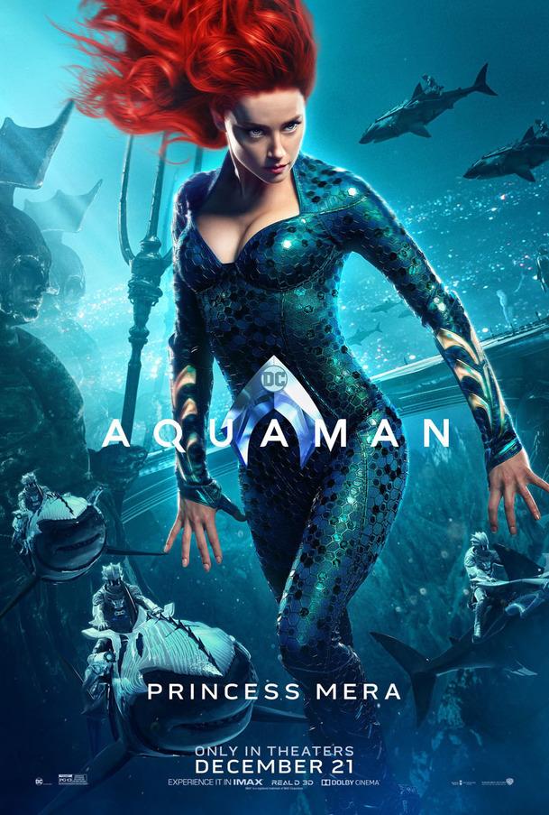 Aquaman představil sedmičku svých postav na plakátech | Fandíme filmu