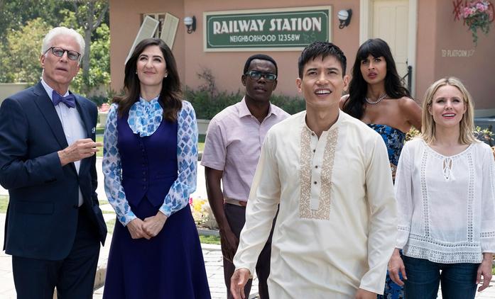 The Good Place: NBC odhalila osud 4. série | Fandíme seriálům