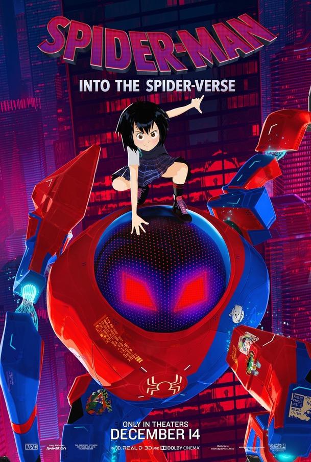 Spider-Man: Paralelní světy: Všichni Spider-Mani na plakátech a v novém videu   Fandíme filmu