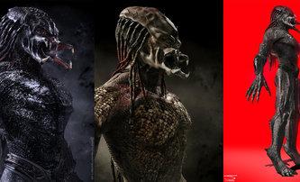 Predátor: Evoluce: Koukněte na opičího predátora a další artworky | Fandíme filmu