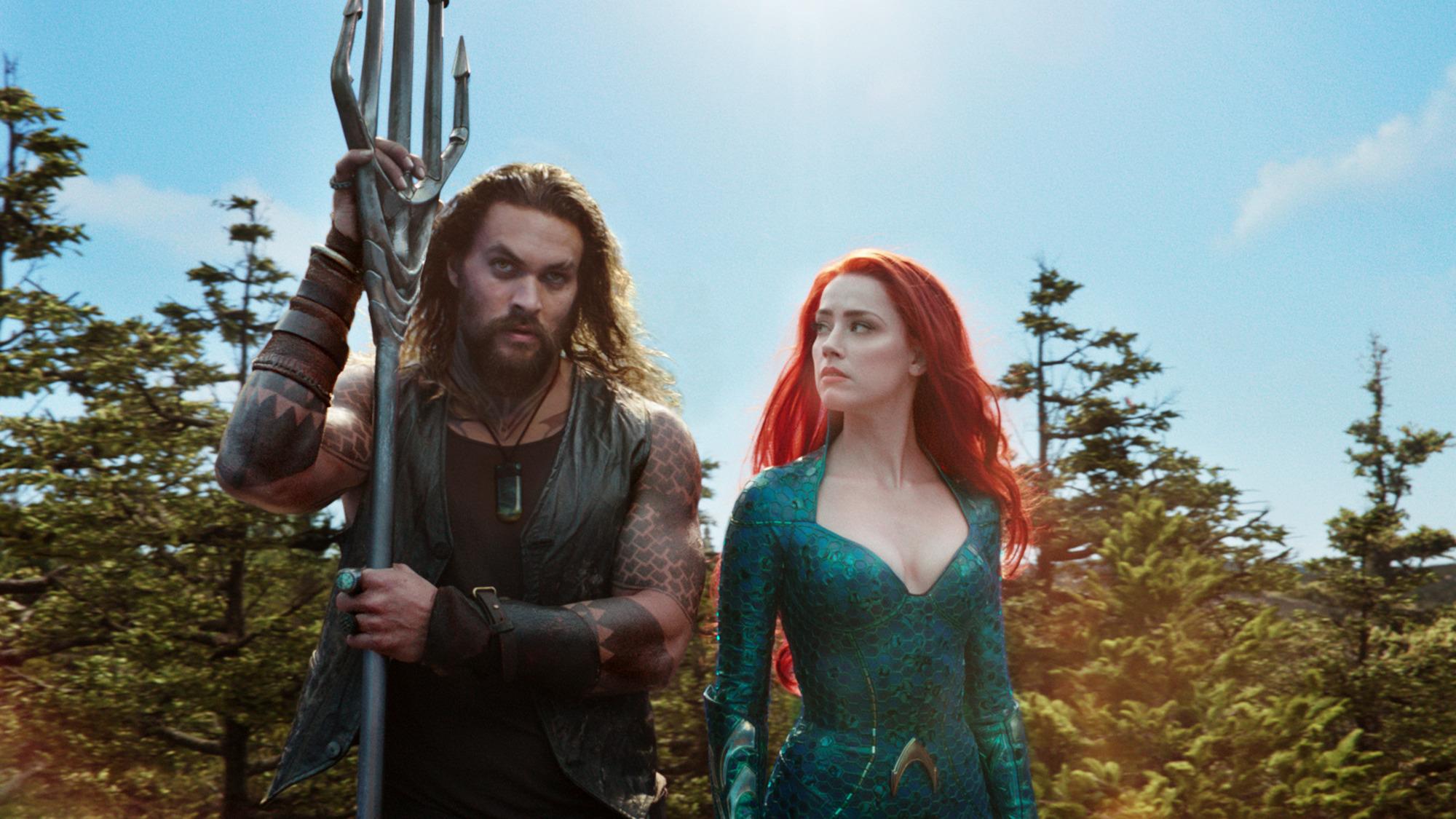 Aquaman: Představitelka Mery chce týmovku s Wonder Woman | Fandíme filmu