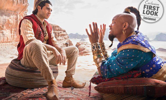Aladin: První pohled na džinovu modrou podobu | Fandíme filmu